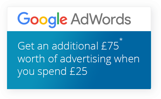 75 Google AdWords | Google Advertising Vouchers | Easyspace