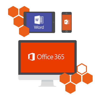 Office 365 works across multiple platforms and devices