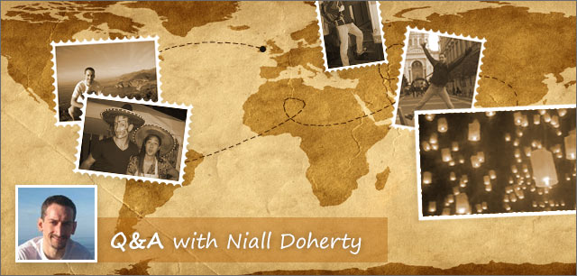 Interview with digital nomad Niall Doherty