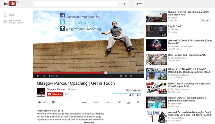 parkour-youtube
