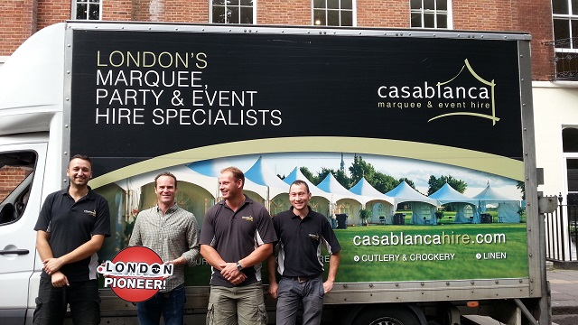 Casablanca Hire Dot London Pioneers 2