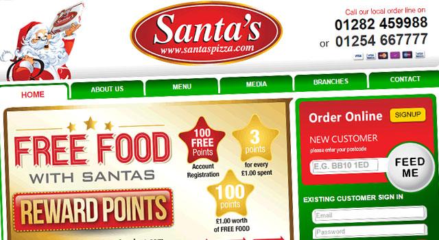 santas-pizza-website