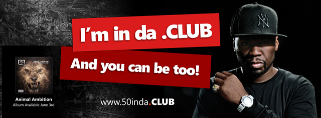 50 Cent is in da .CLUB. Are you?