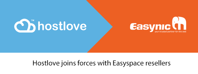 Hostlove joins forces with Easyspace/Easynic